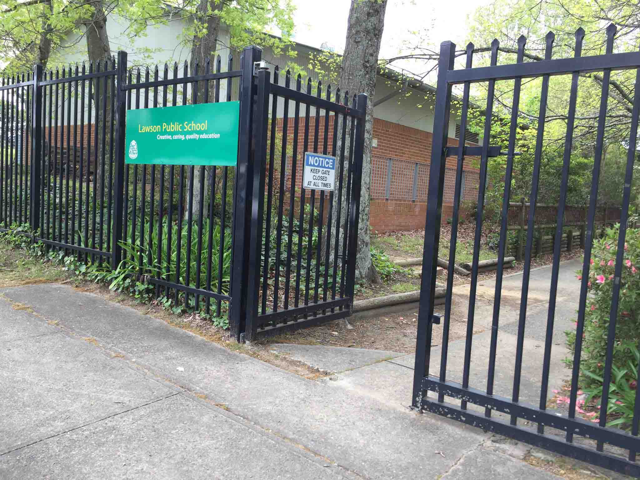 Wilson Street gate