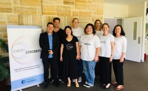 Sensory Concert team Glenbrook