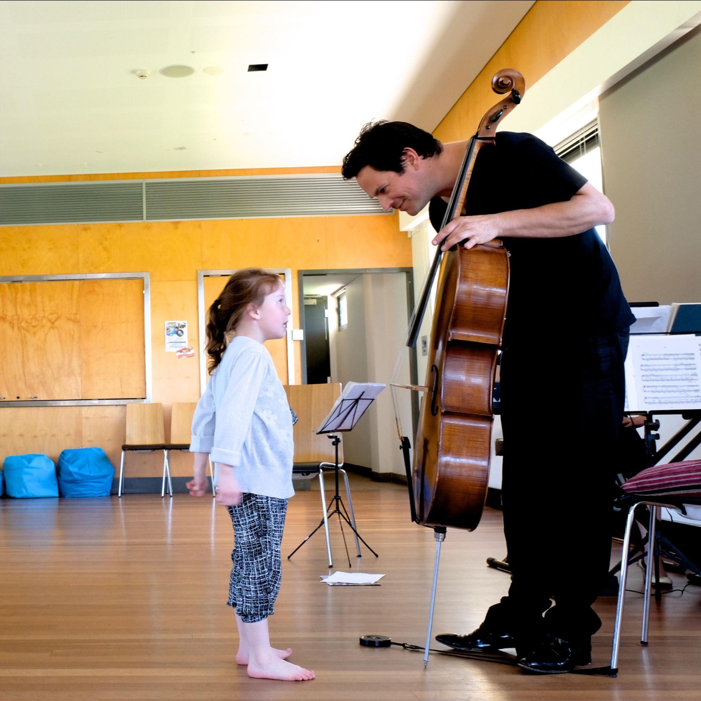 Sensory Concert Teije Hylkema cellist
